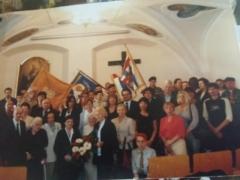 kwiecień 2012 r. - kontynuacja! Pierwsza pielgrzymka z ks. Stanisławem Michałowskim zorganizowana przez następne pokolenia z udziałem byłych więźniarek